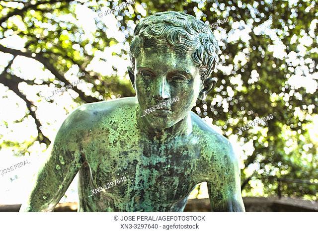 Poggia di Mercurio, Crest of Mercury, Villa Cimbrone gardens, Ravello, Amalfi Coast, Campania, Italy, Europe