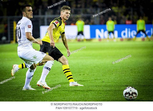 14.09.2018, Signal Iduna Park, Dortmund, GER, 1.FBL, Borussia Dortmund vs Eintracht Frankfurt, DFL REGULATIONS PROHIBIT ANY US PHOTOGRAPH AS IMAGE SEQUENCES AND...