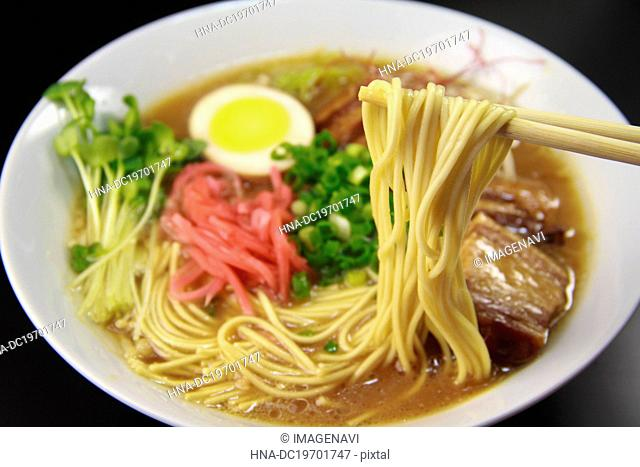 Bowl pork noodle Stock Photos and Images | age fotostock