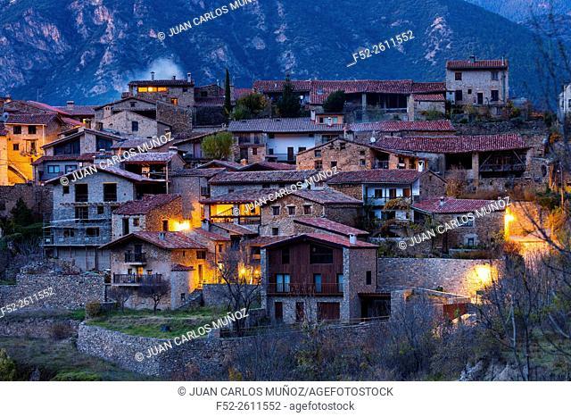 Cadi-Moixero Natural Park, Arseguel village, Alt Urgell, Lleida, Catalunya, Spain