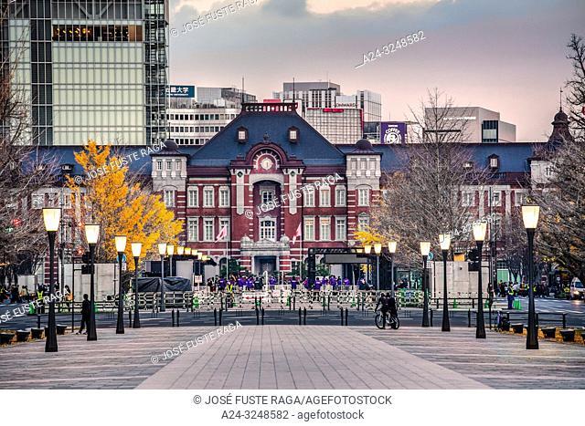 Japan, Tokyo City, Tokyo Station West Side