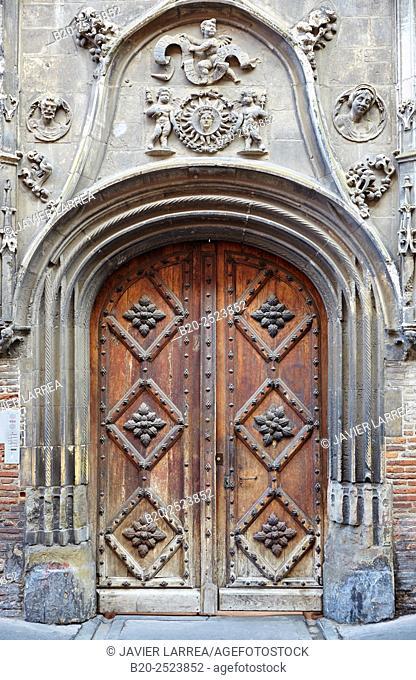 College Pierre de Fermat. Toulouse. Haute Garonne. France