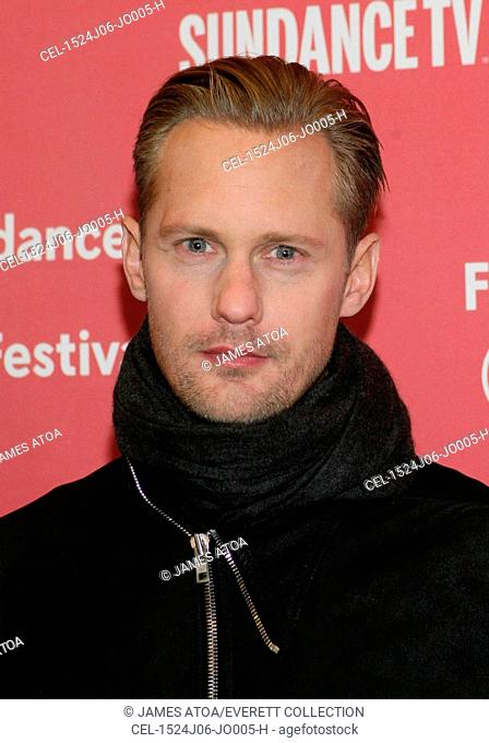 Alex Skarsgard at arrivals for DIARY OF A TEENAGE GIRL Premiere at the 2015 Sundance Film Festival, Eccles Center, Park City, UT January 24, 2015