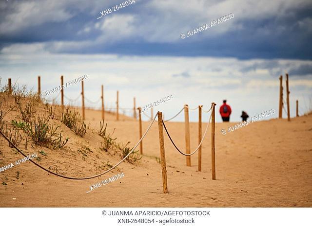 Dunes of Muskiz, Biscay, Basque Country, Euskadi, Spain, Europe