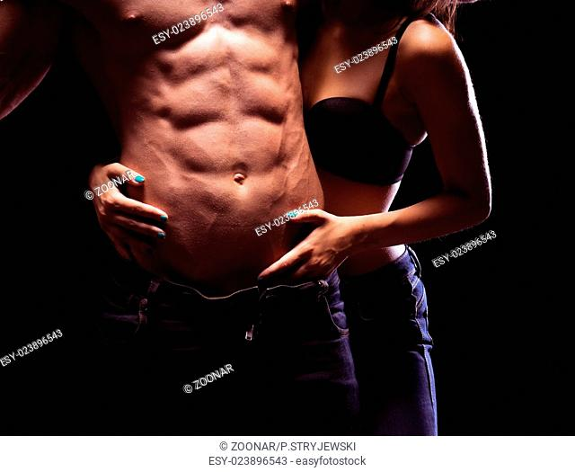 Very Sexy Male Six Pack Abs