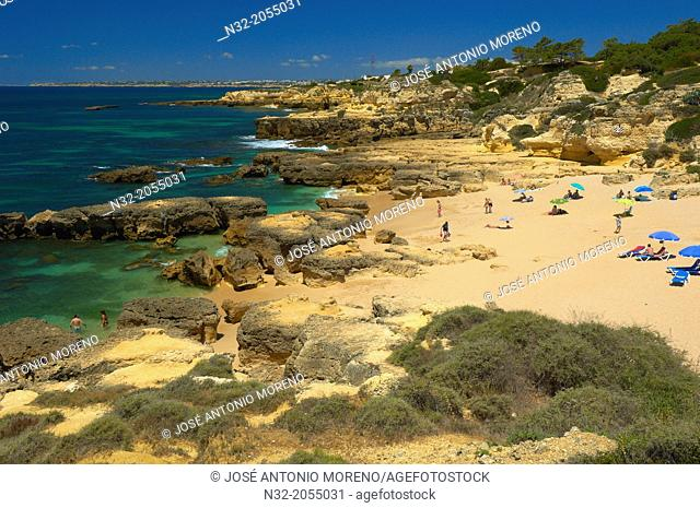 Evaristo Beach, Praia do Evaristo, Albufeira, Algarve, portugal