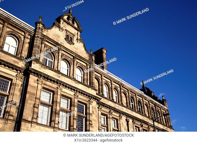 County Hall Architecture in Wakefield West Yorkshire England