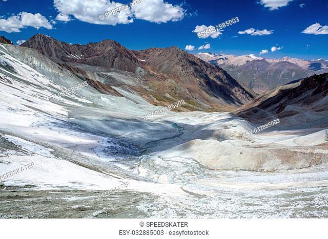 Amazing Tien Shan mountains, Kirghizia