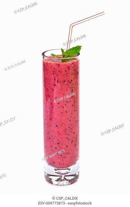 Berries and apple juice