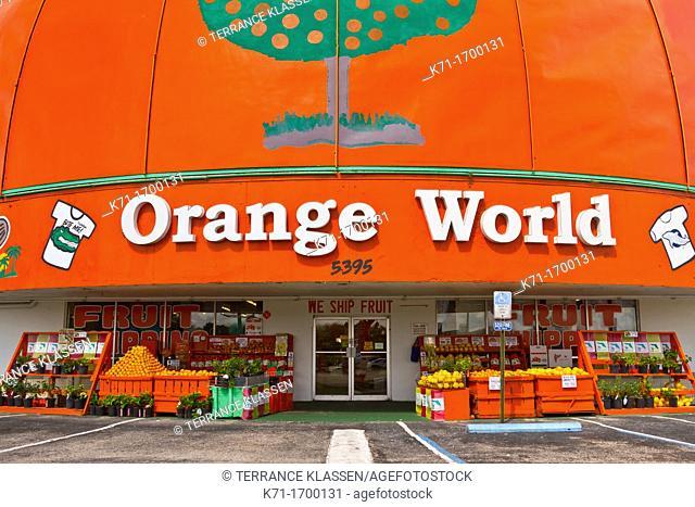Orange World in Kissimmee, Florida, USA