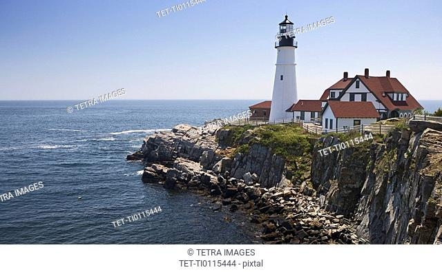 Portland Head Lighthouse Cape Elizabeth Maine