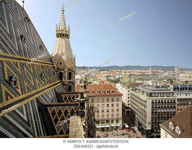 Austria, Vienna, Saint Stephens Cathedral Stephansdom