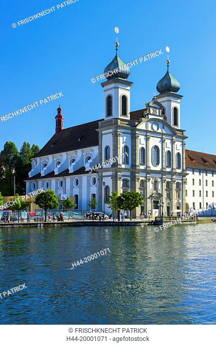 Jesuit's church, Lucerne, Switzerland