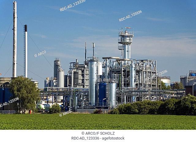 Mineral oil refinery Dollbergen Uetze Lower Saxony Germany