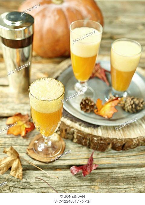 Pumpkin Maple Cocktail