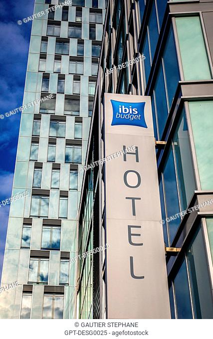 IBIS BUDGET HOTEL CHIN, ACCOR GROUP, BERLIN, GERMANY