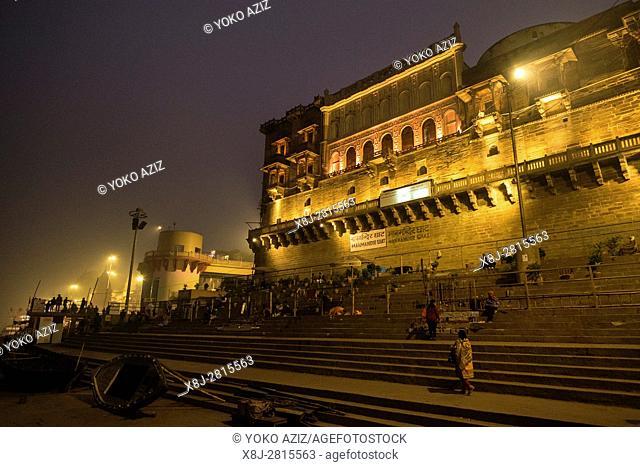 India, Varanasi, ghats