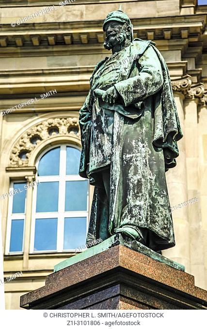 Statue of Willhelm I in Ulm, Germany