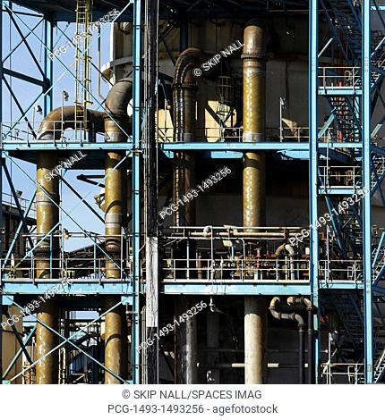 Piping System At A Power Station