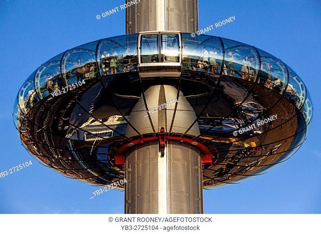 The British Airways i360 Observation Tower, Brighton, Sussex, UK