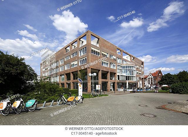 Dortmund, D-Dortmund, Ruhr area, Westphalia, North Rhine-Westphalia, NRW, New City Hall at the Friedensplatz