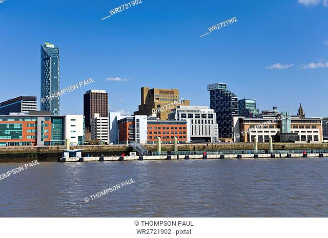 New buildings, Liverpool Skyline, Apartments, Arch