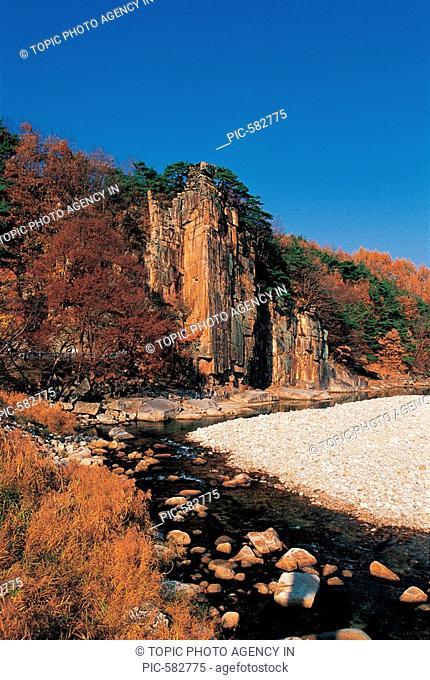 Sainam Rock, Chungbuk, Korea