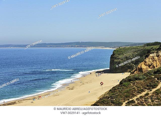 Bicas beach, Sesimbra. Portugal