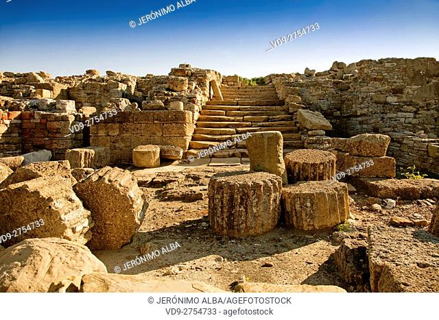 Carteia Archeological Site 7th century BC. includes remains from the Phoenician, Carthaginian, Roman, Visigothic, Byzantine, Moorish and Christian eras