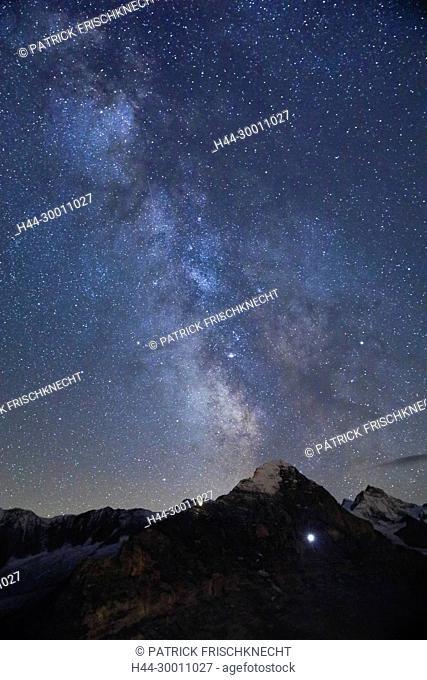 Eiger und Jungfrau, Berner Oberland, Schweiz
