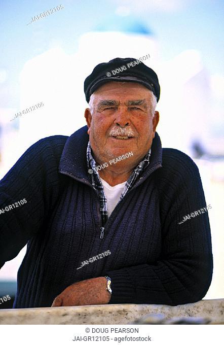 Old Man, Mykonos, Greece