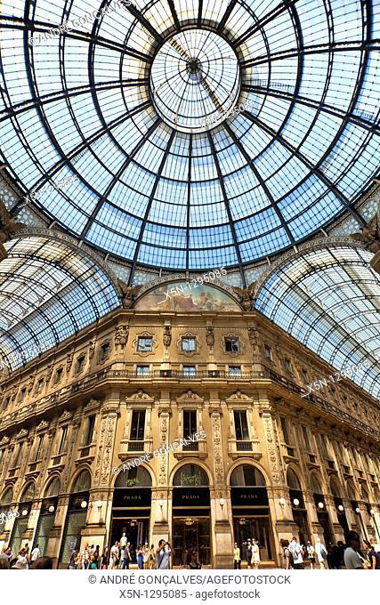 Vittorio Emanuelle Gallery, Milan, Italy