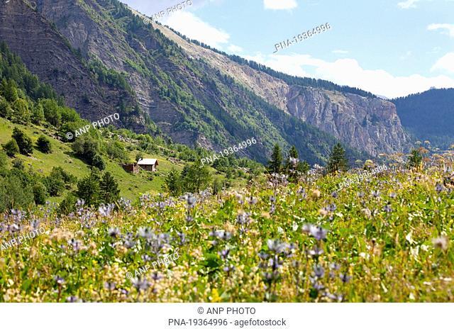 Les Deslioures, Argentiere-la-Bessee, Alps, Hautes-Alpes, Provence-Alpes-CÖte dıAzur, France, Europe