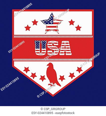 usa emblematic seal design