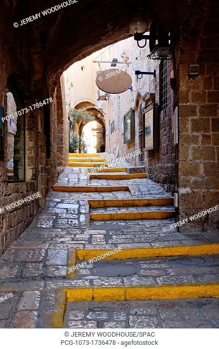 Narrow Old Style Street