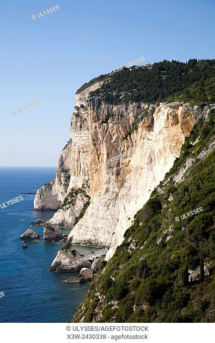 Ermitis beach, Ionian Islands, Paxi island, Greece, Europe