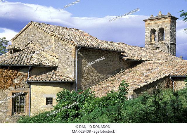 montecuccolo abbey, pavullo, italy