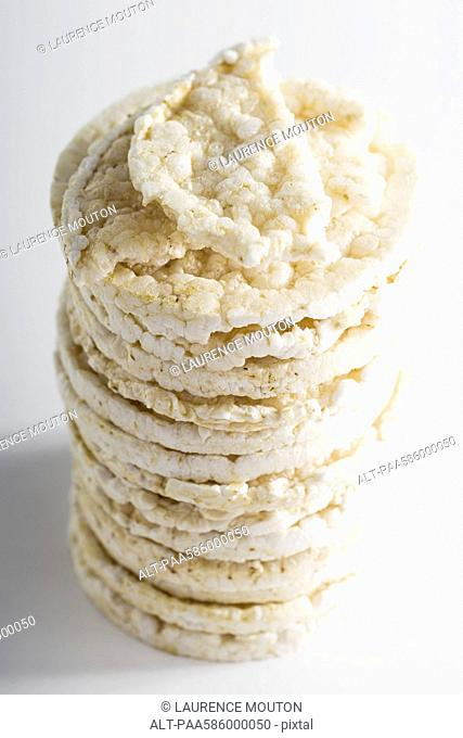 Stacked rice cakes