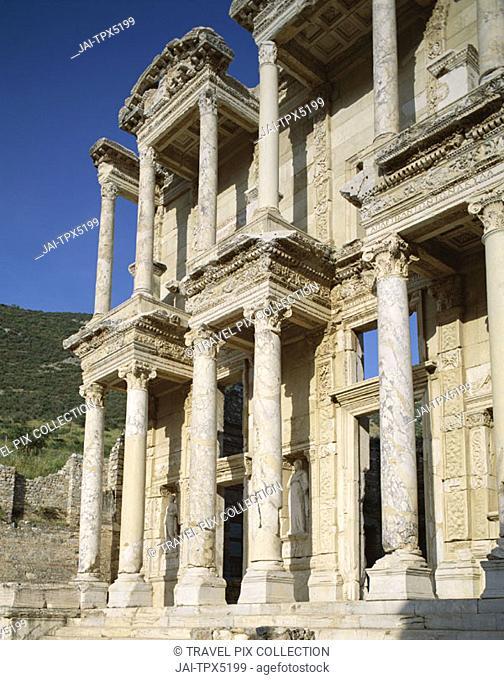 Library of Celsus, Ephesus, Aegean Coast, Turkey
