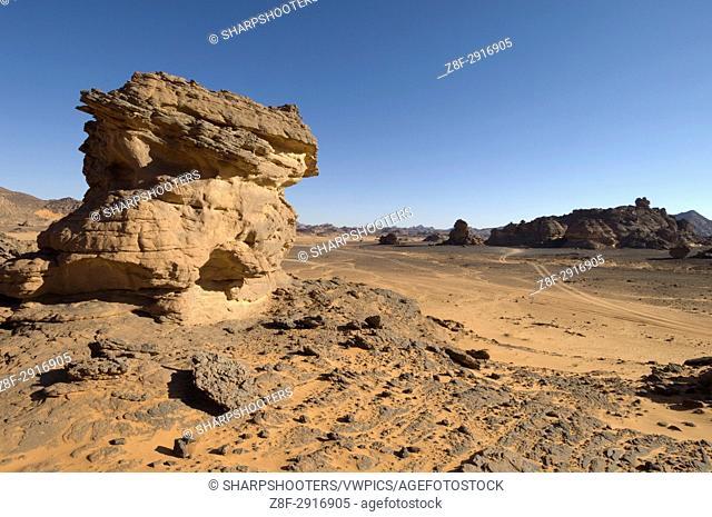 Akakus, Sahara desert, Fezzan, Libya