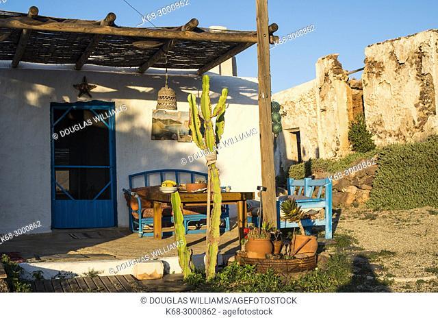 House near La Isleta, Cabo de Gata, Almeria, Spain