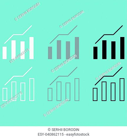 Diagram of the growth icon set