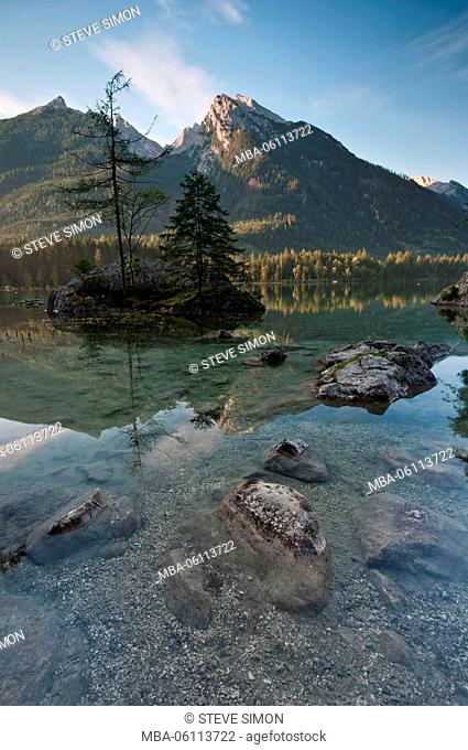 Sunrise in the Hintersee