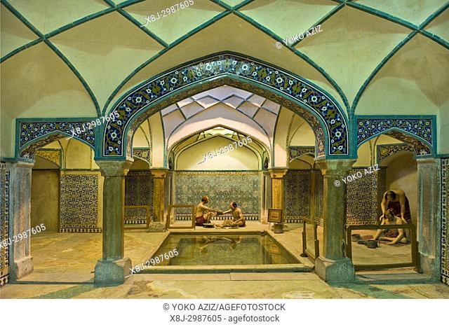 Iran, Kerman, old bathrooms