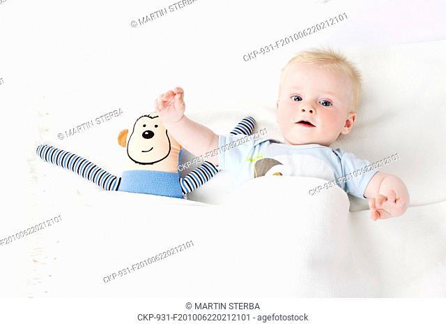 Child, son, toddler, baby CTK Photo/Martin Sterba, Josef Horazny MODEL RELEASED, MR