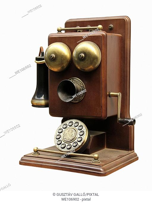 Phone sets 20 century, from the beginning