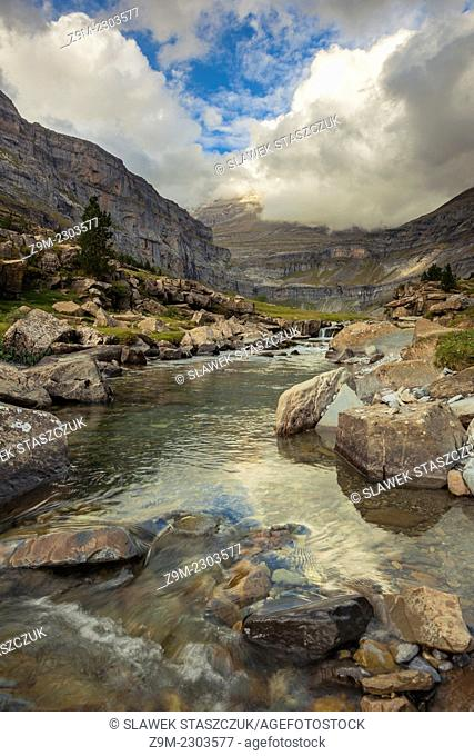 Ordesa Canyon, Pyrenees, Huesca, Aragon, Spain