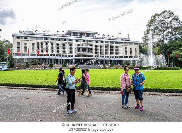 Reuniification palace, Ho Chi Minh City, Saigon, Viet Nam