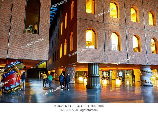 La Alhondiga building, Bilbao, Bizkaia, Basque Country, Spain, Europe