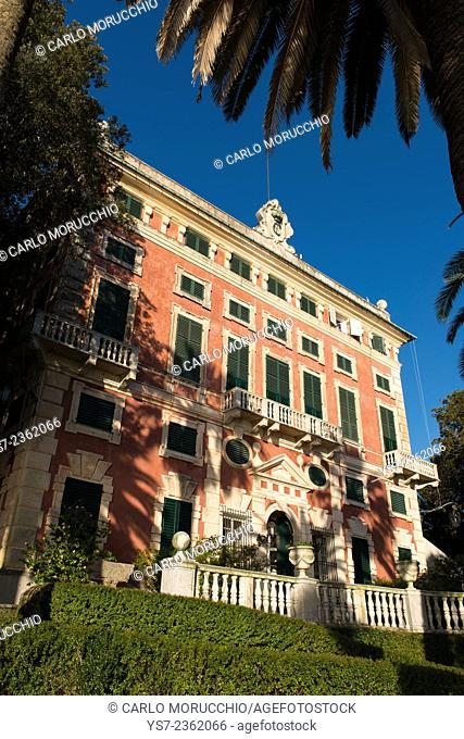 Villa Durazzo, Santa Margherita Ligure, Genova, Liguria, Italy, Europe